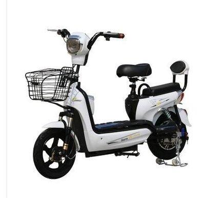 新款電動車成人電動自行車整車長跑王智能電瓶車上班上學出行利器igo