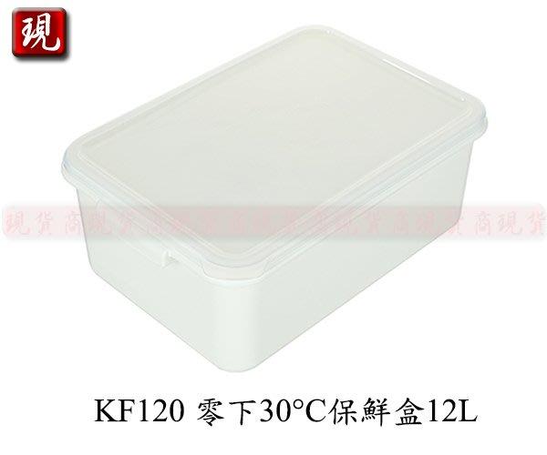 【現貨商】(滿千免運/非偏遠/山區{1件內}) 聯府 KF120 零下30°C保鮮盒12L/蔬果收納盒/食物保鮮盒