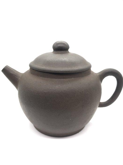 民國初年巨輪朱紫砂老茶壺