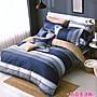 100%純棉_ 特大鋪棉床罩兩用被全套六件組。...