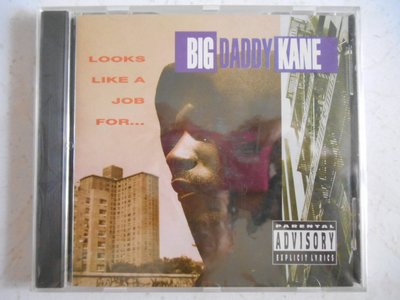 Big Daddy Kane - Looks Like a Job For... 進口美版