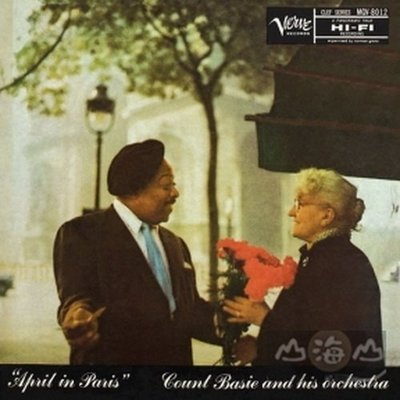 【黑膠唱片LP】四月花都 April In Paris/貝西伯爵 Count Basie---5345893