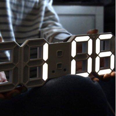 LED數字時鐘 USB時鐘 鬧鐘 溫度計 掛牆鐘