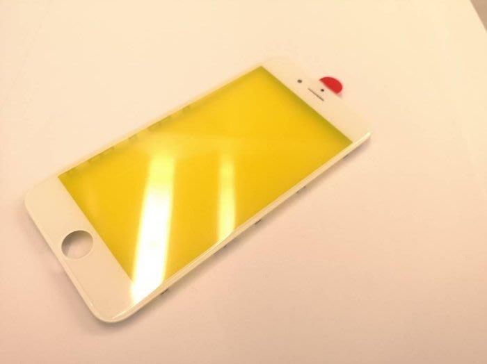 【保固半年】Apple iphone 6S 螢幕 面板玻璃 純面板 玻璃 贈手工具 - 白色