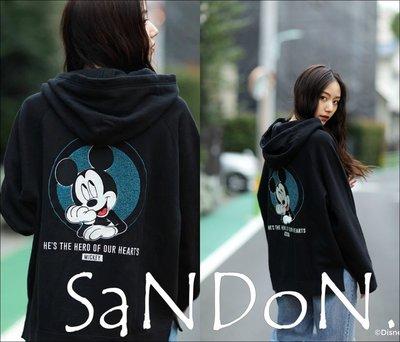 SaNDoN x『MOUSSY』日本限定專櫃販售 米奇合作款連帽字母連帽TEE SLY 韓妮 171201