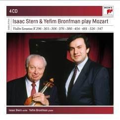 《典範大師套裝系列153》莫札特小提琴奏鳴曲集 / 艾薩克‧史坦 Isaac Stern---88985464992