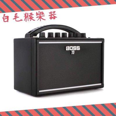 《白毛猴樂器》BOSS KATANA MINI 刀系列 7W 吉他音箱 迷你音箱 KTN-MINI 可用電池