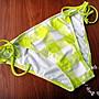 *╮S.water shop╭* 檸檬黃方格 三角泳褲 G...