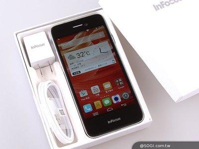 @@4G雙卡手機便宜賣@@全新雪白InFocus M350e 智慧型手機...亞太4G可用..便宜又實用.