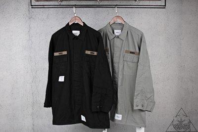 【HYDRA】Wtaps Guardian / Jacket. Cotton Ripstop 軍襯衫 外套【WTS92】