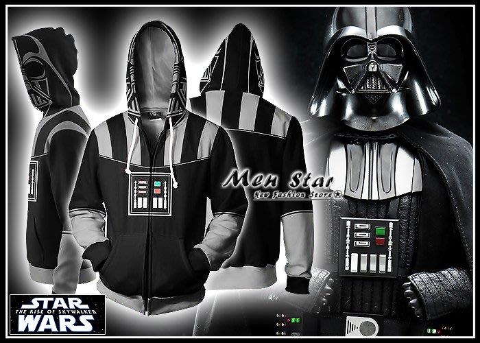 【Men Star】免運費 復STAR WARS 天行者的崛起 彈力運動外套 團體服裝 外套 大尺碼外套 反抗軍 黑武士