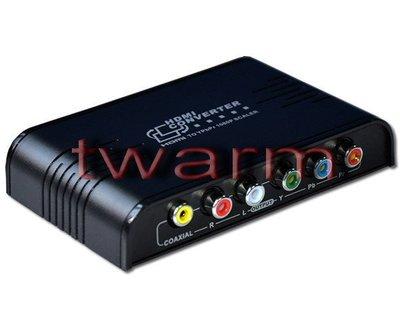 《德源科技》n)新款 LKV384 PRO HDMI轉YPbPr 色差分量 轉換器hdmi to Component