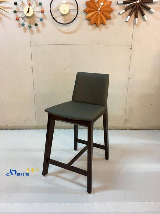 【挑椅子】現代簡約實木中島椅 (復刻品) ZY-ST07-2