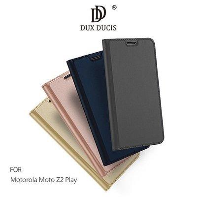*PHONE寶*DUX DUCIS Motorola Moto Z2 Play 奢華簡約側翻皮套 可站立皮套 可插卡 保