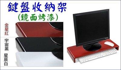 ※仙蒂購物網【空間大師-鋼鐵液晶鍵盤收納架】三色可選--鏡面烤漆【再享免運費】※