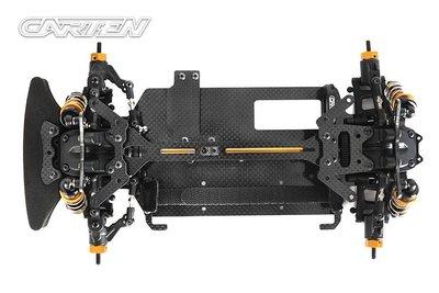 大千遙控模型 全新 Carten 凱登 1/10 M210R 四輪傳動 M車KIT 版