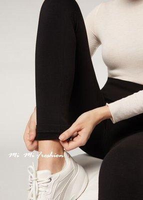 正品-義大利美腿神器 Calzedonia 莫代爾混CASHMERE喀什米爾羊絨羊毛柔軟保暖內搭褲/Leggings