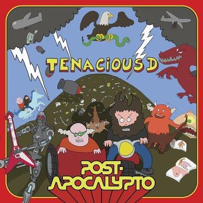 【彩膠唱片LP】後啟示錄 Post-Apocalypto / 阿傑與阿凱 Tenacious D-19075893381