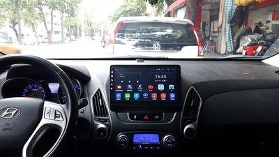 現代 IX35 (10-16) 2021年最新款10.2吋安卓10.0版八核6+128智能導航旗艦車機