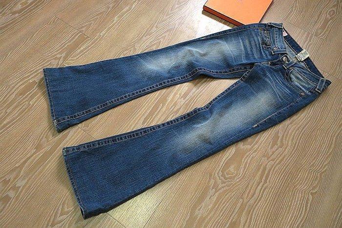*beauty*  TRUE RELIGION藍色靴型牛仔長褲     26    號   5000   元YK