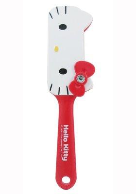 GIFT41 4165本通 三重店 凱蒂貓 方臉造型氣墊梳-紅 MT-721 KT