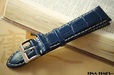 TINA TIMES~GISELLE專為 浪琴巨擘 帶頭21mm設計的錶帶 經典高傲上市 最優質專業