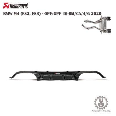 【YGAUTO】蠍子 BMW M4 (F82,F83)-OPF/GPFDI-BM/CA/4/G⚡️高光後碳纖維擴散器