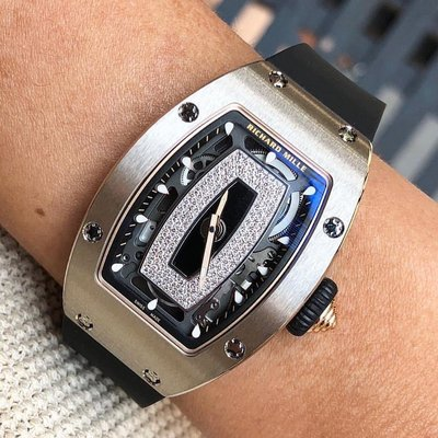 Richard Mille [NEW] RM 07-01 White Gold Automatic Ladies Watch