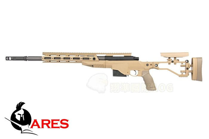 【翔準軍品AOG】ARES M40A6(沙) 空氣手拉 長槍 狙擊 全金屬 生存遊戲 MSR-026