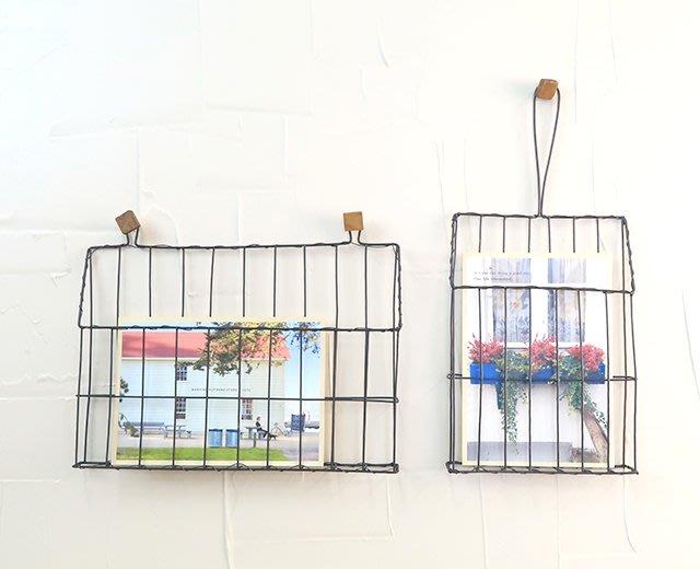 《齊洛瓦鄉村風雜貨》日本zakka雜貨 壁面收納 壁面裝飾鐵籃 收納照片籃 明信片展示 造型收納 居家裝飾 店家布置