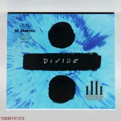 爆款CD.唱片~WEA29585902 艾德 希蘭 Ed Sheeran Divide ÷ 豪華[E] CD