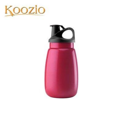 Koozio動感水瓶600ml (紫嫣紅) (不鏽鋼水瓶/水壺 /不銹鋼杯/ 隨手杯/ 環保杯) Koozio原廠專賣