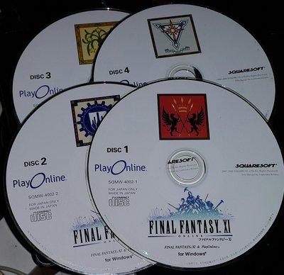 PC GAME_Final Fantasy XI太空戰士11 ~ 二手