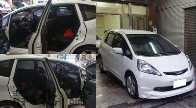☆久豆麻鉄☆ Honda Fit 2代 可用 (四門氣密) 全車隔音套組 汽車隔音條 靜化論 芮卡國際 公司貨