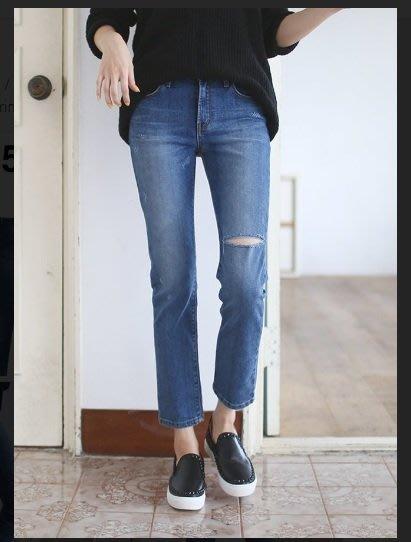 韓系丁丁。韓國空運 ROYAL 正韓 秋冬新款 高腰直筒褲 #2065 現貨S