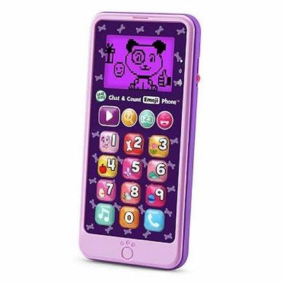 【2U小舖】  LeapFrog 跳跳蛙 教育玩具  -  炫光智慧小手機 ( 粉紫 )