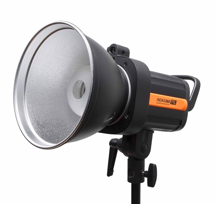 呈現攝影-Phottix Indra 360 TTL外拍燈 4000mAh電池套組 棚燈 送 Odin Tx
