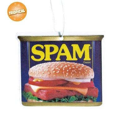 (I LOVE樂多)SPAM 午餐肉罐頭香片吊飾(熱帶風味)