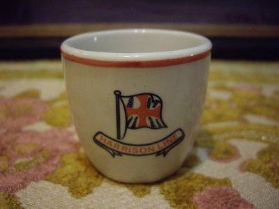 歐洲古物時尚雜貨 老英國 小杯 十旗子 擺飾品 古董收藏