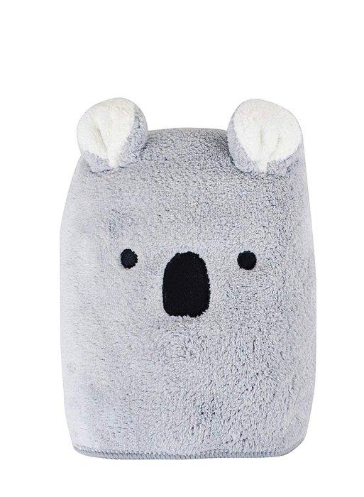 樂婕 Carari Zooie 可愛動物造型 浴巾 吸水速乾 兔子 無尾熊