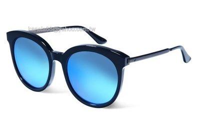 # 嚴選眼鏡 #= GENTLE MONSTER = LOVESOME 銀 黑框藍水銀 太陽眼鏡 公司貨