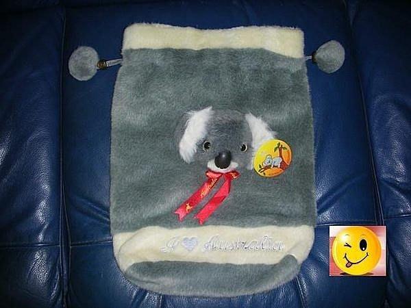 【澳洲帶回 】無尾熊造型小孩背包無尾熊臉是立體的