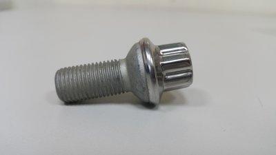BENZ W211 2003- 鋁圈螺絲 輪胎螺絲 總長度51mm 梅花頭 (德國製=原廠全新品) 0009903507