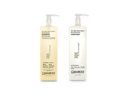 好市多專職代購-Giovanni 茶樹洗髮精/潤髮乳 1公升-一單最多4罐