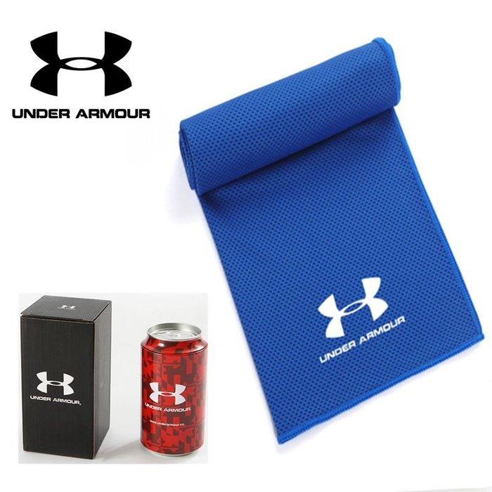 UA安德瑪毛巾冰涼吸汗速幹健身房男女足球籃球跑步瑜伽涼感擦汗吸汗巾 運動吸汗毛巾 機車騎行慢跑加長浴巾
