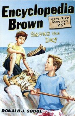 *小貝比的家*ENCYCLOPEDIA BROWN SAVES THE DAY #7 /平裝/7-12歲