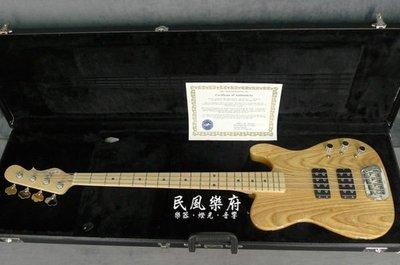 《民風樂府 》美國廠 G&L  Custom ASAT NT/ MP BASS 電貝斯  附原廠硬盒 最後一把出清 新竹市