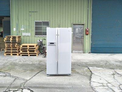 【安鑫】~中古家電~LG奈米頭等艙雙門冰箱(GR-B52C)576公升對開電冰箱 【A347】