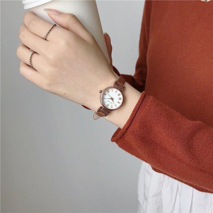 奇奇店#ins古風手表中國風 森系女學生韓版簡約細帶小巧女士氣質時尚精致#眼鏡#杯子#手錶