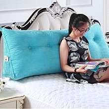 可拆洗床頭三角大靠墊靠枕雙人情侶靠背120cm